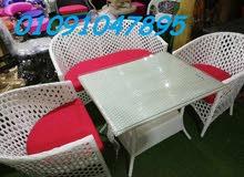 متخصصون في فرش الحدائق والمطاعم والكافيهات بارقي الكراسي والترابيزات المستوردة والراتان