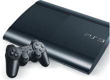 Playstation 3 video game console up for sale. For hardcore gamers