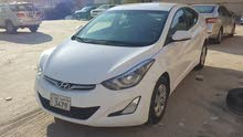 For sale 2015 White Elantra