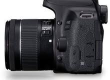 canon 800d ( T7i ) with kit lens 18-55mm stm