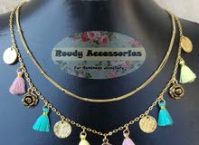 Tassel layered necklace