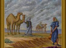 لوحة زيتية