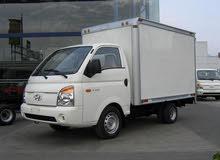 سيارة بورتر حافظة لنقل الاثاث والبضائع داخل طرابلس جاهزة بالسائق والعمال