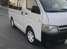 Best rental price for Toyota Hiace 2011