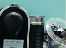 مكينة القهوه نسبريسو وبعض النكهات