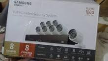 كاميرات مراقبة جديدة 8  كاميرات سامسونج مع الجهاز