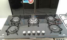 متوفر حاليا غاز ARSTON أرستون غاطس 5 رؤوس ( شعلة ) مرش ( زجاج ) بسعر التخفيض