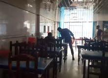 مطعم فتحتين في اب للبيع  في سوق الظهار في اب