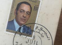 الطوابع البريديه المغربيه القديمه