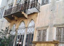 للبيع بنايتين قديمه مع الارض في بيروت الباشوره