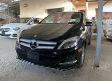 Mercedes Benz b250 2015 مرسيدس كهرباء اسود داخل أوف وايت