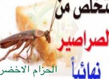 تعلن شركة الحزام الأخضر عن مكافحة الحشرات بأفضل الأسعار في مسقط