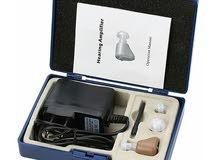 سماعة الداخلية المخفية MEDca HEARING AID لعلاج ضعف السمع بالشاحن وليس بطارية