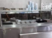 مطعم حمص و فول و فلافل و سناكات للبيع