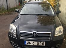 Toyota Avensis 2006 For sale - Black color