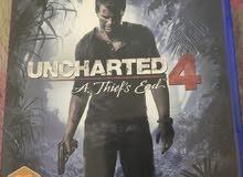 لعبة UNCHARTED4للبيع
