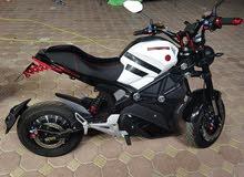 دراجه علا الشرج كهرباء سرعتها 80