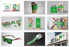 تصميم وبناء الهويات التجارية