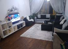 دبي الممزر غرفه وصاله مع بلكون للإيجار الشهري