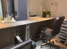 Salon Rental Place with salon holding things