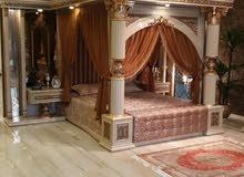 غرف نوم ملكيه ضخمه