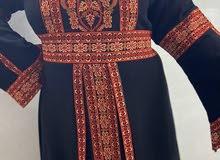 ثوب  بتطريز فلسطيني جديد