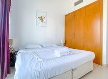 دبي بيزنس باي غرفة وصالة مفروشة سوبر لوكس شهري شامل