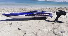 RC USA Traxxes Spartan boat
