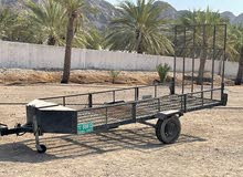 للبيع مقطورة مسجلة تسع دراجات عدد 2 for sale trailer registered for two motorcyc