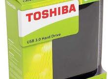 هاردسكات خارجيه نوع TOSHIBA.