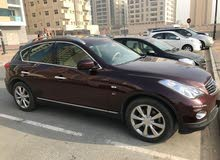 Infiniti QX50 2015 GCC very clean from first owner  60000km