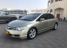 Honda Civic car for sale 2007 in Muscat city