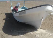 قارب لبيع مع محرك