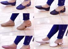 احذية كعب وفلات