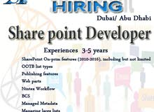 Share point Developer