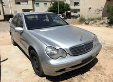 Silver Mercedes Benz C 180 2002 for sale