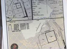 للبيع ارضين شبك سكنيات في القرم لبناء شقق