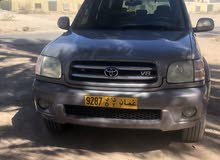 Toyota Sequoia car for sale 2002 in Hamra city