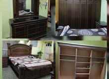 غرفة نوم لشخصين بحاله ممتازه