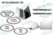 Hp EliteBook 745 G3 General