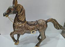 brass horse hand made