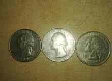 عمله ربع دولار امريكي