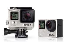 كاميرا كوبرو هيرو 4 سلفر gopro hero 4 silver -بيع او مراوس بكاميرا او كيس و انطي فرق