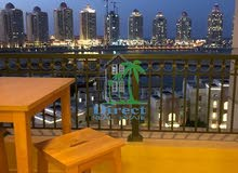 1 bed furnished flat in Viva Bahriya ,The Pearl QR9,000