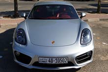 Silver Porsche Cayman 2016 for sale