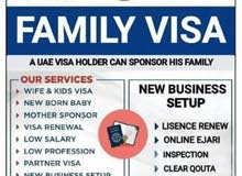 FAMILY VISA,TENANCY CONTRACT & COMPANY LISCENCE RENEWEL