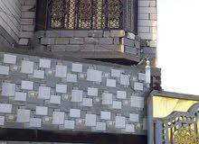 دار طابقين في منطقة الجزيره بالبصره الشارع المقابل لسوق باب الهوى يبعد عن الشارع