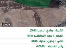ارض للبيع في حجار النوابلسه عبدون