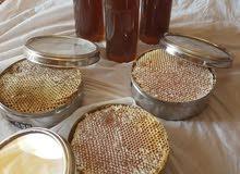 للبيع شمع بعسل السدر طبيعي وغراش عسل سدر طببعي