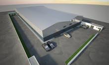مستودعات بمساحة 1000 متر مربع للإيجار في القسطل